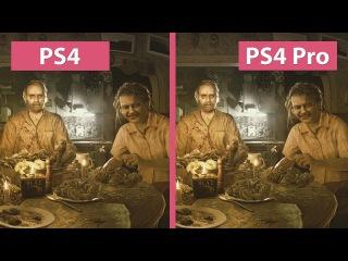 4K UHD   Resident Evil 7 – PS4 vs. PS4 Pro 4K Mode Graphics Comparison
