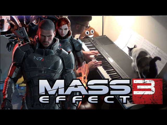 Mass Effect 3 An End Once and For All video Piano Cover Kyle Landry