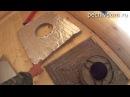 Дымоход в Бане Как сделать противопожарную распушку Часть5