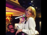 Kylie Minogue inside her party at The Ivy London KylieMinogue Kylie,