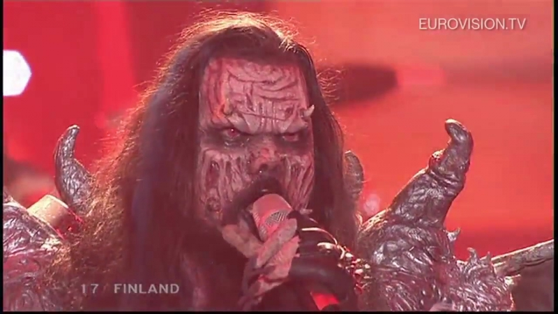 2006 Lordi - Hard Rock Hallelujah (Финляндия) (Eurovision - Евровидение 51)