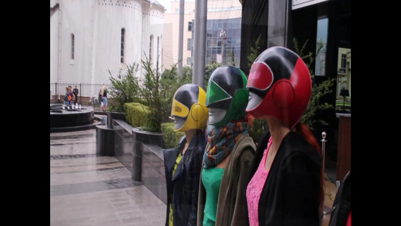 Rangers are back (Power Rangers Time Force in Russia, cosplay)