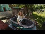 Глория Гейнор нервно курит в сторонке - отличный английский Юлии Александровой (