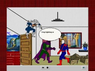 Spider-man cartoon maker (1996, knowledge adventure)