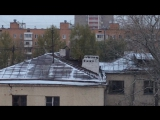 Зима. В Москве затопили... Печи (а может и камины)...