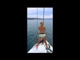 Регина Twerk импровизация на яхте