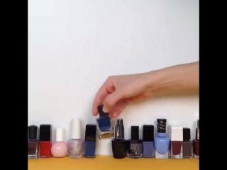 Как я выбираю лак для ногтей