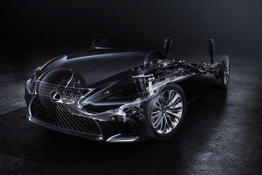 Новый Lexus LS: первое фото