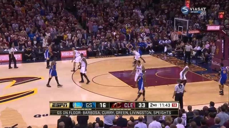 Golden State Warriors - Cleveland Cavaliers - game 3 - NBA final 2016 ( Кливленд - ГСВ Финал НБА )