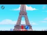 Ледибаг и Супер-Кот Нуар - песня на русском - Miraculous Ladybug (Russian extended OP theme song)