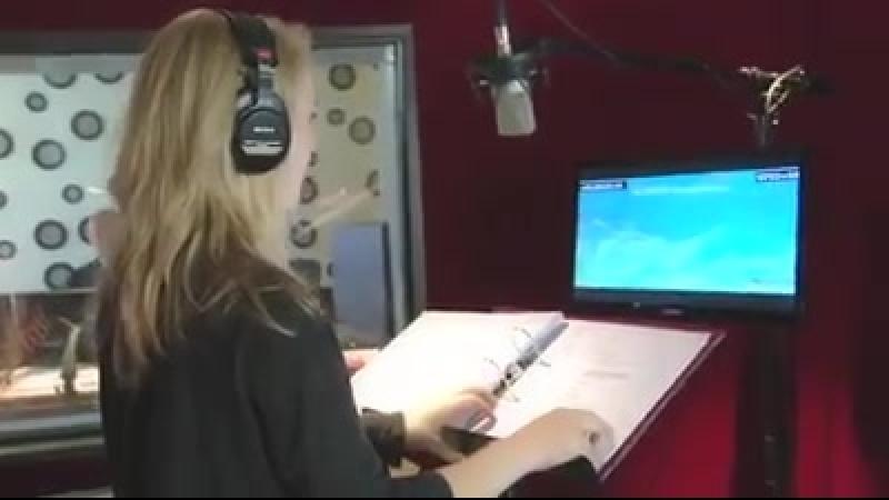 Ханна озвучивает героиню мультика Семейка монстров (De Boxtrollen)