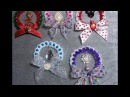 DIY~Make Beautiful Wreath Ornaments From Mardis Gras or Party Beads