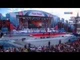 Иосиф Кобзон и группа Республика Девчонки танцуют на палубе
