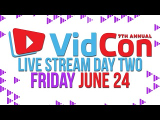 VidCon Live Day 2