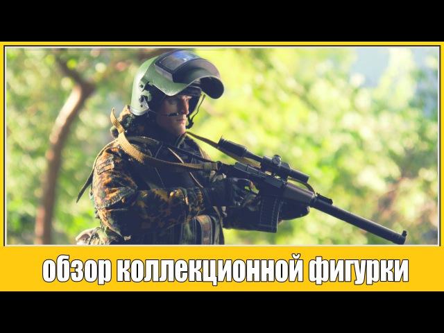 Обзор коллекционной фигурки спецназовца DAM Toys Spetsnaz in Beslan, в масштабе 1/6 - damtoys 78021