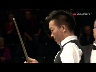 Zhang Yong Fluke v Stuart Bingham F5 German Masters 2017