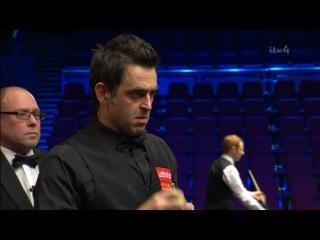 Ronnie O'Sullivan Fluke v Yan Bingtao World Grand Prix 2017
