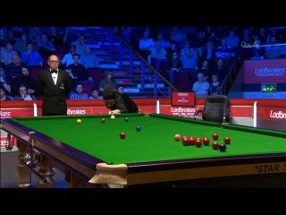 Yan Bingtao Fluke v Ronnie O'Sullivan World Grand Prix 2017