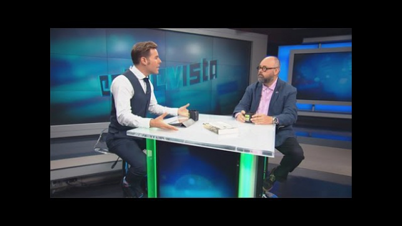 Карлос Руис Сафон. Эксклюзивное интервью. RTD на Русском (17.10.2016)
