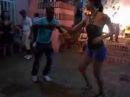Santiago de Cuba, danseurs de salsa, aout 2013