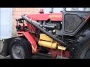 Трактор ХТЗ 2511 и ЮМЗ 6 АКМ с навесным оборудованием