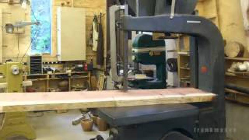 Jak powstaje drewniane krzesło ciekawa animacja