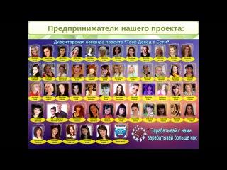 Семейный бизнес. Презентация проекта Твой доход в сети Ирина и Вячеслав Пугачевы