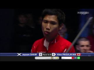 Pool Player's Cue Literally ON FIRE Alex Pagulayan on World Pool Masters 2017