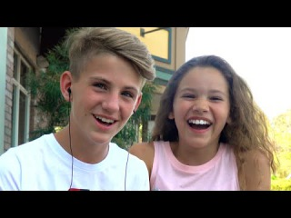 The whisper challenge! (MattyBRaps vs Sierra Haschak)
