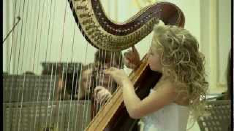 U. Temirkanov Awards Ceremony. A. Zabel - La Source (Alisa Sadikova - 9 years old harpist)