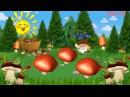 Весёлые грибочки - Музыкальный Мультик dtc`kst uhb,jxrb - vepsrfkmysq vekmnbr