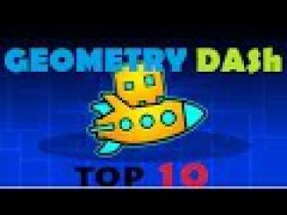 ТОП 10 САМОЙ КРУТОЙ МУЗЫКИ ИЗ GEOMETRY DASH