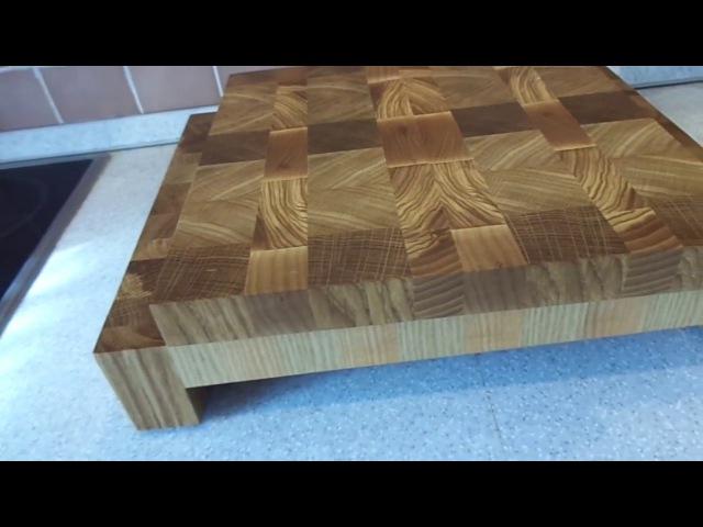 ADM Wood. Торцевой разделочный набор. Дуб, ясень.