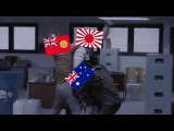 HOI4 When 3 Players Play Italy, Germany and Japan Against AI