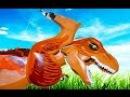 ЛеГо ДиНоЗаВрЫ для детей. ПОДЕРЖИ МОЙ ХВОСТ и ГОЛОВУ... Мультфильм про динозавров