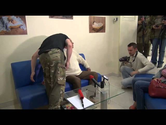 Кургинян - Донецк 7 июля 2014, полная версия пресс-конференции, слив Стрелкова И.И., ДНР и НОД