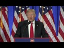 WATCH FULL: President-Elect Donald Trump Holds Press Conference at Trump Tower (1/11/2017)