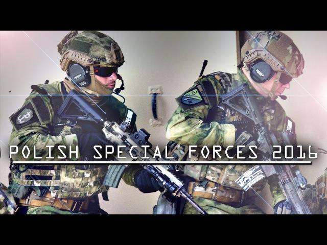 Polish Special Forces 2016 | HD 1080p | GROM - FORMOZA - JWK - AGAT - NIL
