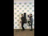 Darren and Chuck at Elvis Duran Show