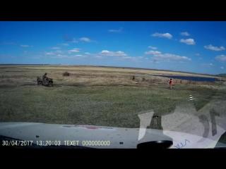 Квадроцикл убежал