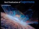 Bir ifrat nəhəng ulduzun partlama anının təsviri. ifratnəhəng ulduz ifratyeniulduz supernova ulduz