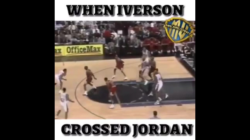 When Iverson crossed Jordan