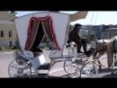 Карета с лошадьми на праздничные мероприятия в Туле!Прекрасные лошади в карете на улицах!
