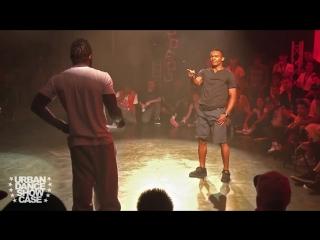 B-BOY JUNIOR VS. B-BOY NEGUIN - Breakin Freestyle Battle - 310XT FILMS - URBAN DANCE SHOWCASE