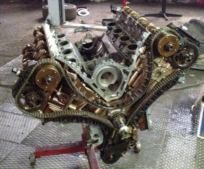 Ремонт двигателей Porsche