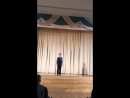06.12.2016 Гимназия им Артема Боровика .Конкурс чтецов