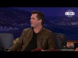 Jim Jefferies on Conan OBrien / Джим Джеффрис у Конана О'Брайена (25.07.2016) [Русские субтитры]