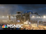 Surviving A Stage Collapse (Web Exclusive)  Split Second Decision  MSNBC