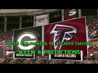 GREEN BAY PACKERS VS. ATLANTA FALCONS PREDICTIONS | #NFL WEEK 8 | FULL GAME