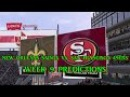 NEW ORLEANS SAINTS VS. SAN FRANCISCO 49ERS PREDICTIONS NFL WEEK 9 FULL GAME